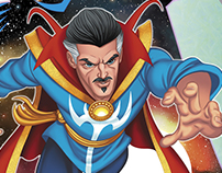 Doctor Strange Little Golden Book Art