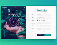 Registration Form UI Design