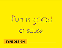 Crayola Sans Typeface Project + Making of Video