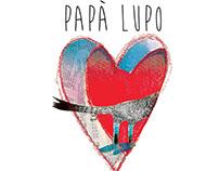 PAPA' LUPO -Silent book . Some illustration of the book