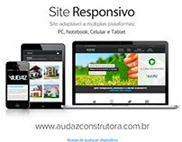 AUDAZ [ Site Responsivo ] Celular, PC e Tablet