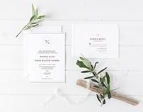 Wedding Invitation Design - Sundance, UT
