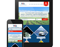 Washington State Democrats Logo and Website Design