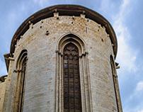 Apse church of Sant Feliu Girona