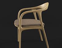 Free 3D model - Chair 002