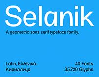 SK Selanik Typeface