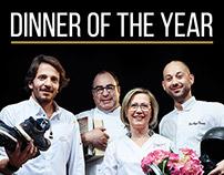 Dinner of the year // Webdesign
