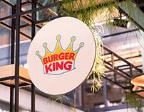 Re-branding of Burger King logo