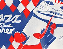 Jazz club identity