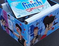 Finish. Diseño pack promocional