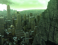 Matte Painting City Showreel // Set Extension VFX
