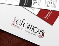 Efamous | Logo