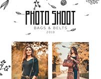 PHOTO SHOOT - BAGS & BELTS 2019