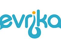 Evrika logo design