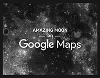 Amazing Moon on Google Maps ▬ by shiraz & daryan
