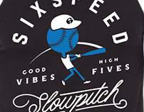 SixSpeed Slowpitch Tees