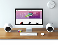 Nike Home page re-design