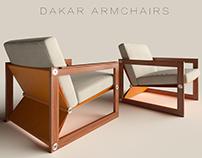 Dakar Armchair & VERDESIGN