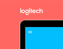Logitech - Website concept