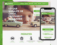 Website Meridional Seguros