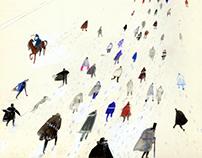 """""""The Overcoat"""", N. V. Gogol // illustrations"""