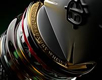 3D bottle of Chivas Regal The Icon • International