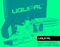 LiquiPal Product Visualizations and Graphic Designs