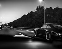 Porsche, Black&White