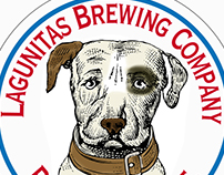 Lagunitas Brewing Co. Logos Illustrated by Steven Noble