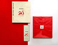 Toyota Vietnam 20 Years - Anniversary Book