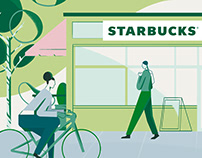 "Starbucks ""Welcoming You Back"""