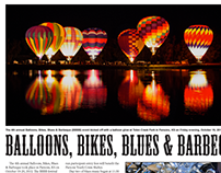 Balloons, Bikes, Blues & BBQ