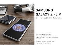 Samsung Galaxy Z Flip Mockup
