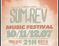 """""""Sum.Rev"""" Festival Event Poster"""