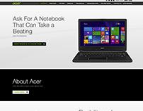 Acer Australia (SMB) Website
