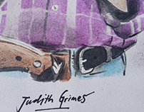 Badass Judith Grimes