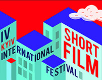 Posters for Kyiv International Short Film Festival