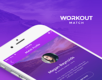 Workout Match - Mobile iOS app