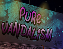 Game Poster for `Pure Vandalism´
