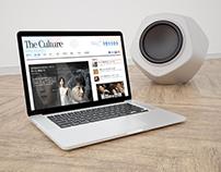 The Culture - Online Newspaper Wordpress Website