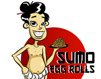 Sumo Egg Rolls Graphic