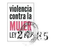 Micrositio Ley 26.485