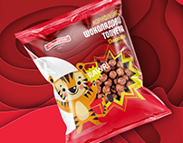 Cornflakes - Choco Puffs - package redesign