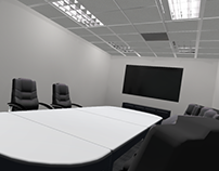 VR Meeting Room Environment