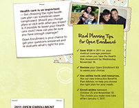 Benefits Open Enrollment Collateral