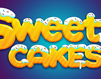 Sweety Cakes Typography
