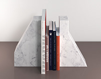 Free 3d model / Lithos Bookends by Ligne Roset