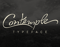 Contemple - Typeface