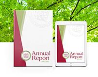 MHA Care Annual Report A4 Booklet Brochure Design