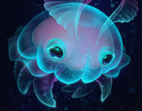 Biscuit, the deep sea Jelly Bun